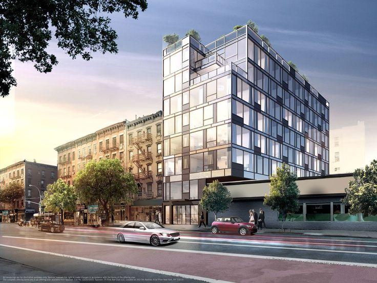 Rendering of 75 First Avenue (Nest Seekers International)