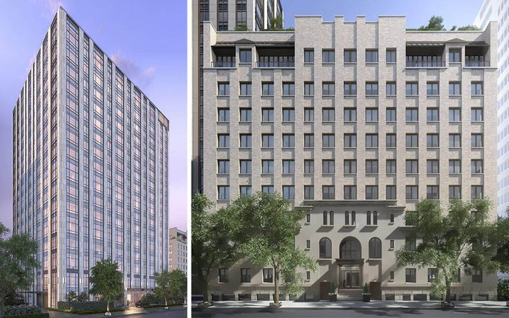 Gramercy Square's 'The Tower' at 215 East 19th Street, and 'The Prewar' at 225 East 19th Street