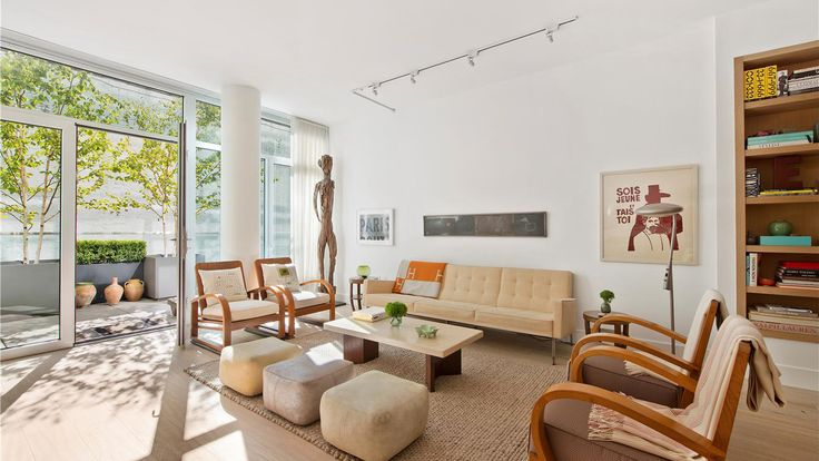Living Room, 520 West 19th Street, Condo, Manhattan, NYC
