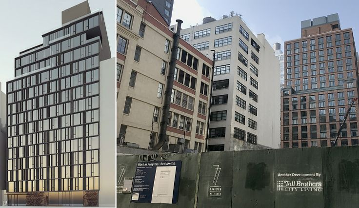 Construction on 77 Charlton Street is expected to be completed in late 2020 (All construction photos by CityRealty)