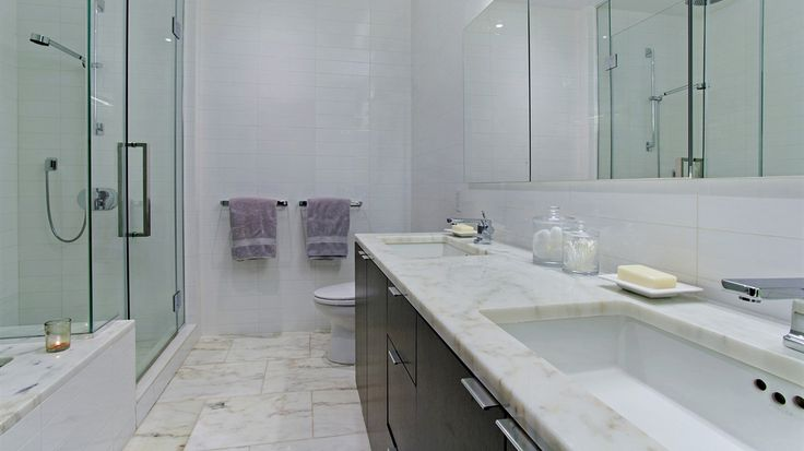 Bathroom, 101 Warren Street, Condo, Manhattan, NYC