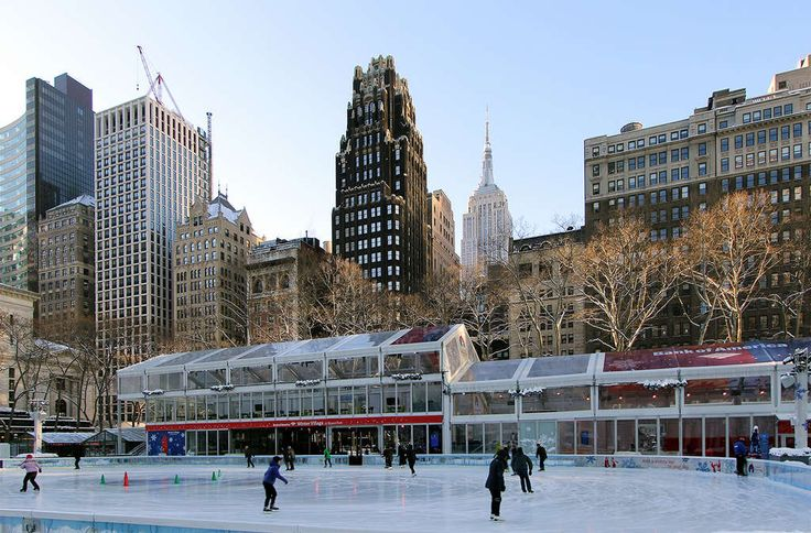 The Rink at Bryant Park (Photo Credit: CityRealty)