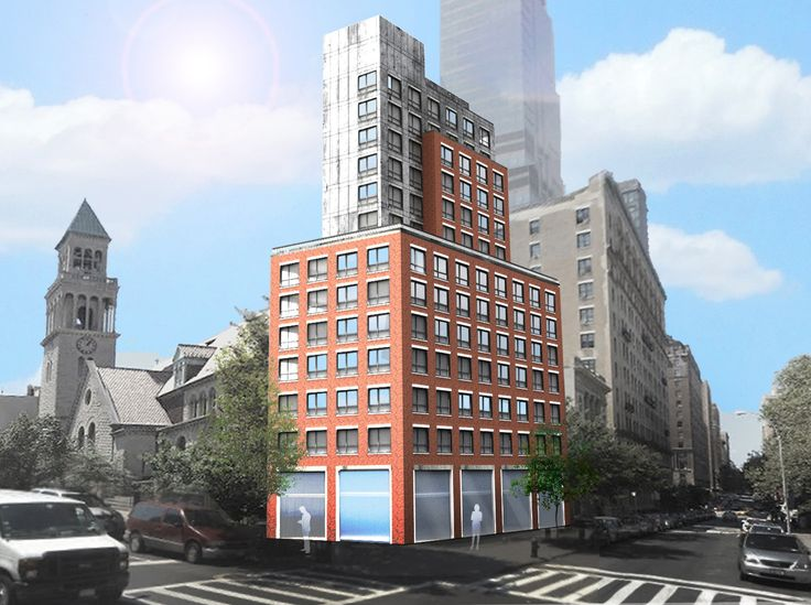 The site will rise 15 stories and likely host 34 condo units (CityRealty)