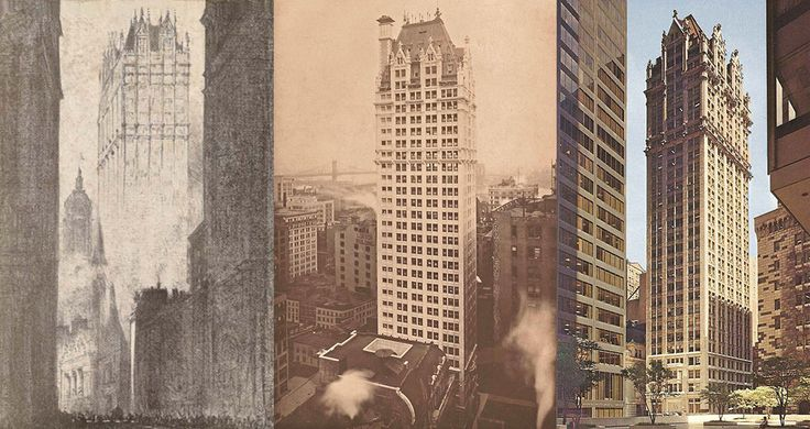 Liberty Tower throughout the years (via Joseph Pell Lombardi Architect)