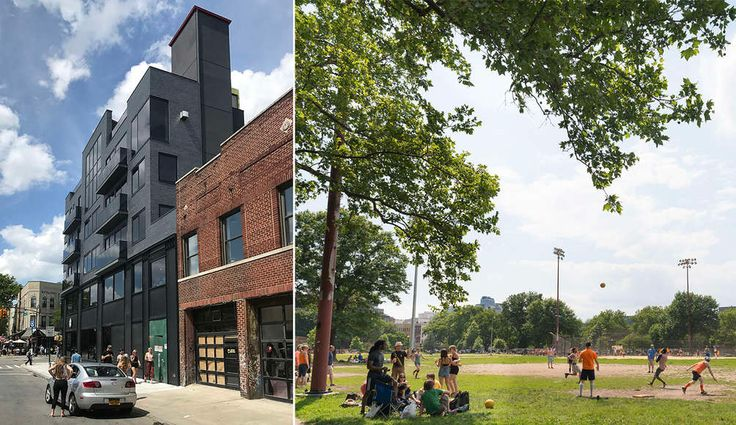 906 Lorimer Street overlooks McCarren Park (Images: CityRealty)