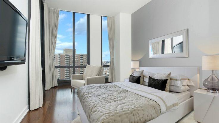 Bedroom, 101 Warren Street, Condo, Manhattan, NYC