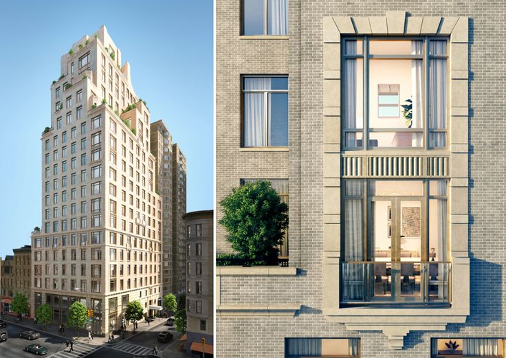 Two Fifty West 81st (Renderings by Williams New York. Design by Robert A.M. Stern Architects)