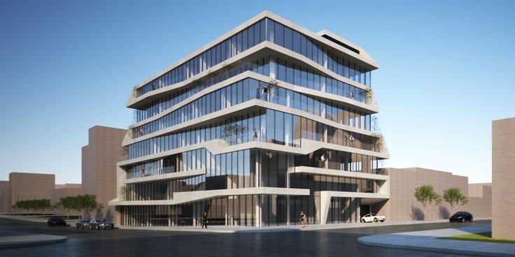 All renderings of 500 Kingston Avenue via IN-OA Architecture
