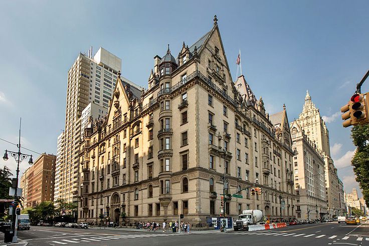 The Dakota from Central Park West (Sotheby's International Realty)