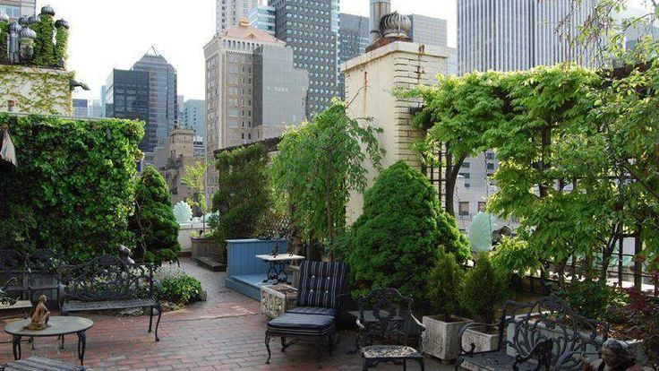 Roof Terrace, 535 Park Avenue, Condo, Manhattan, NYC