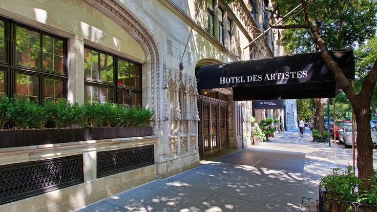 Hotel des Artistes, New York Apartment