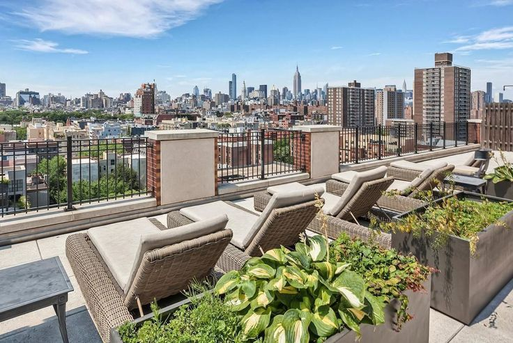 View from the roofdeck at Arabella 101 in the East Village (Dermot)