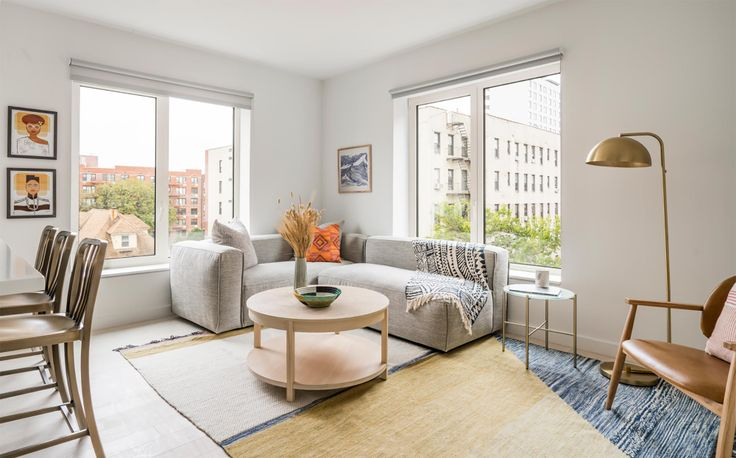 Model apartment at The Lois in Prospect-Lefferts Gardens