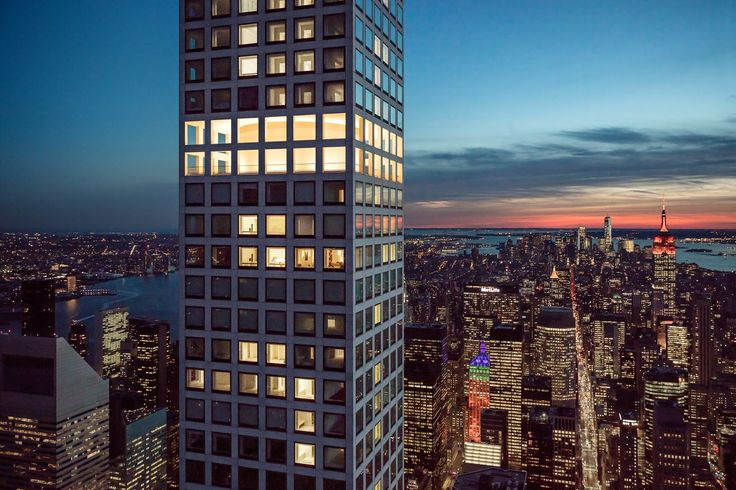 432 Park Avenue and the Midtown skyline (DBOX)