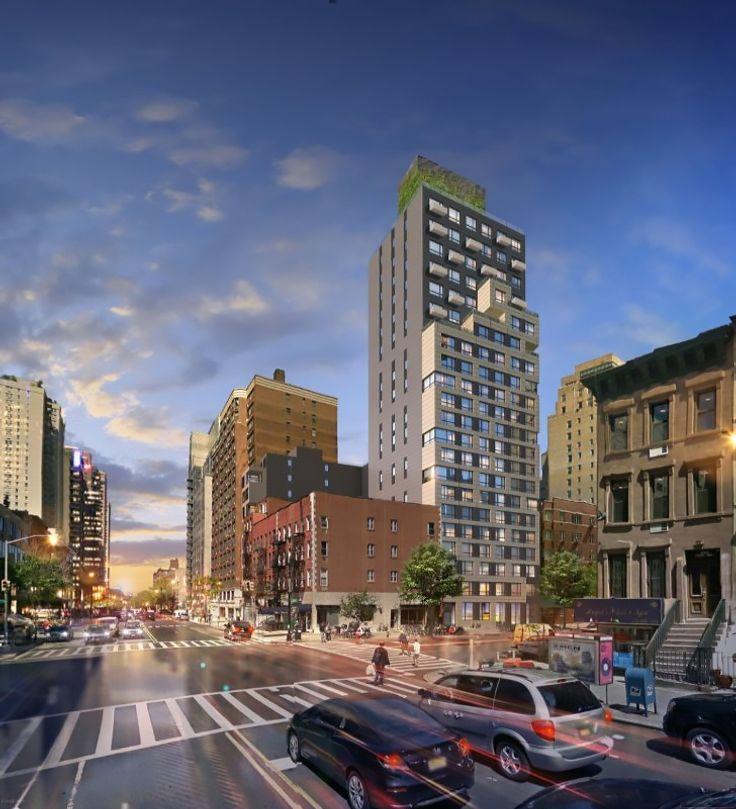 Rendering of 511 East 86th Street via EP Engineering