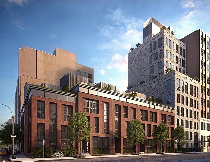 Captured rendering of 111 Leroy Street (via BuzzBuzzHome)