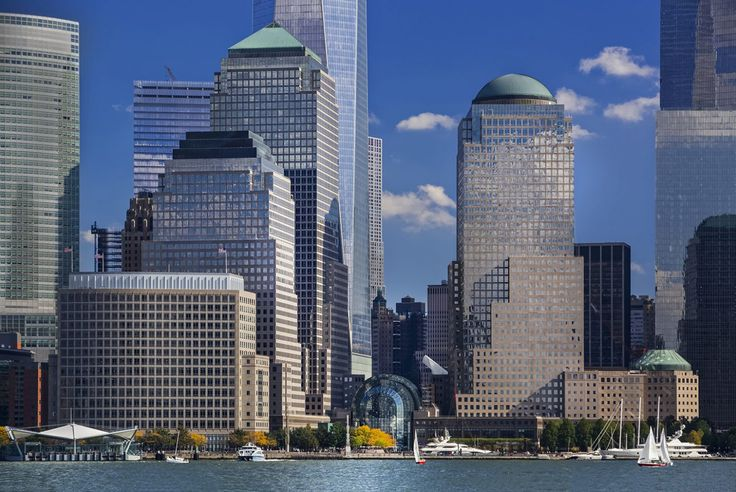 World Financial Center, also known as Brookfield Place, via Pelli Clarke Pelli Architects