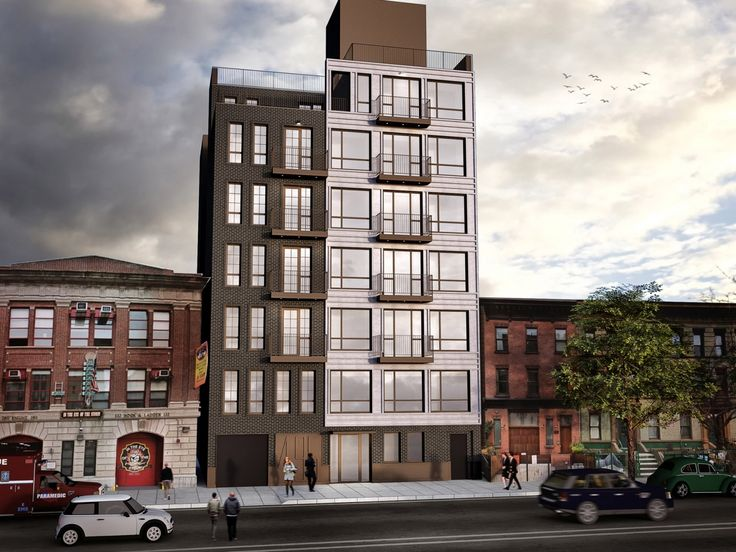 Rendering of 495 St. Johns Place in Brooklyn (Image: Input Creative Studio)