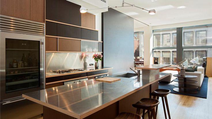 Kitchen, 40 Mercer Street, Condo, Manhattan, NYC