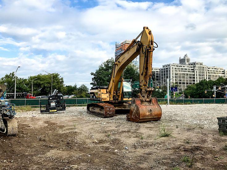 1 River park construction