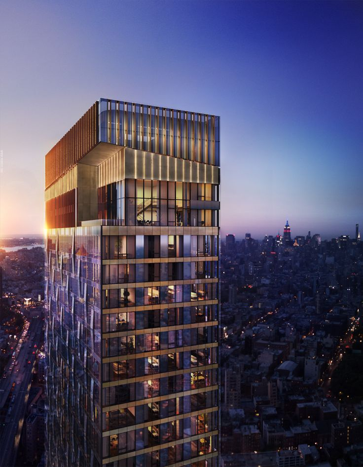 One Manhattan Square via Extell Development Company