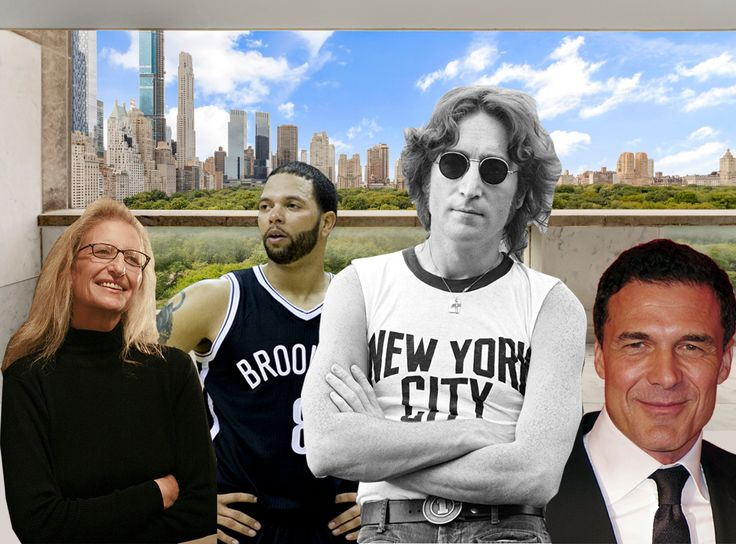 Views from 812 FIfth Avenue and local celebrities busy in the NYC real estate market  (Compass)