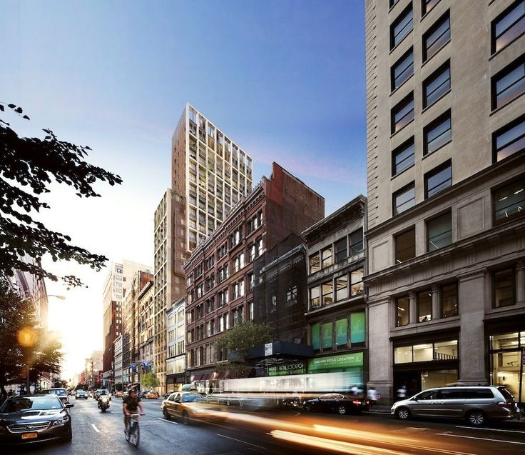 Rendering of 39-41 West 23rd Street by COOKFOX Architects