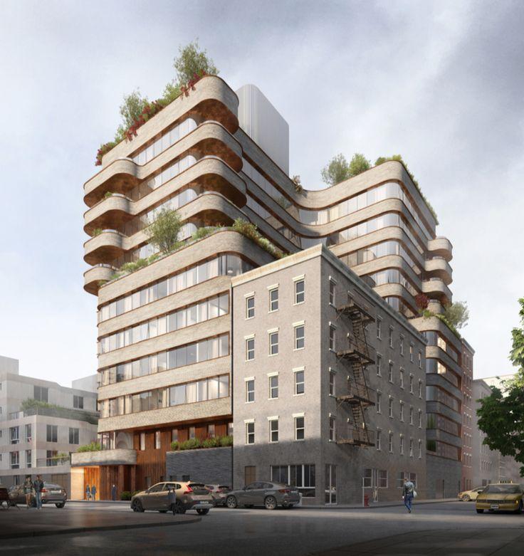 Rendering of 208 Delancey Street via New Empire Real Estate Development