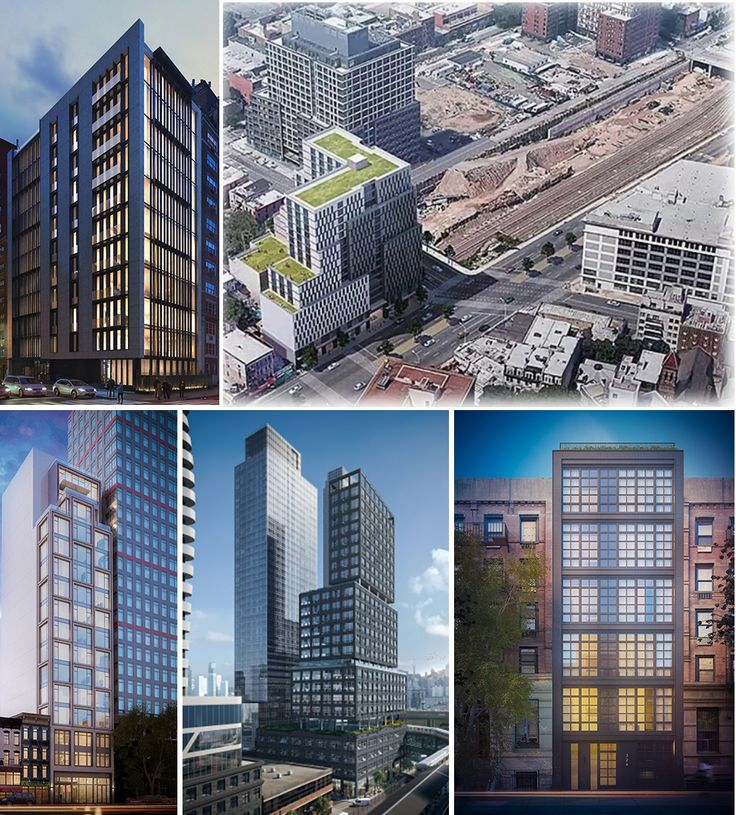 A selection of newly revealed renderings throughout New York