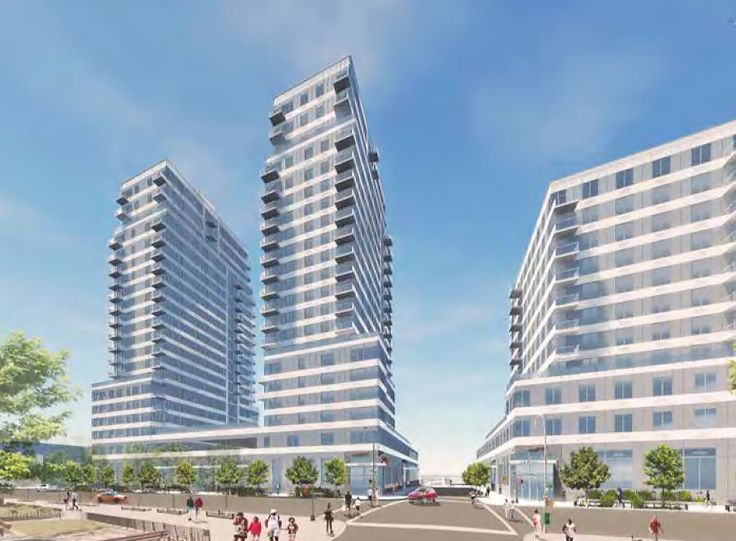 New renderings for Ocean Dreams/3514 Surf Avenue via NYC Department of City Planning
