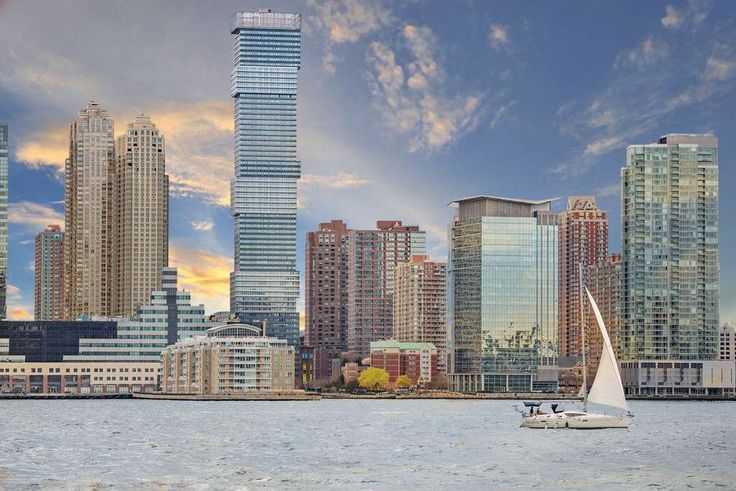 Jersey City Urby at 200 Greene Street is within the Harborside community of Jersey City, New Jersey. (Image via Ironstate Development)