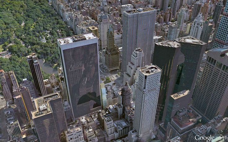 10 West 57th Street will rise at the bottom-center