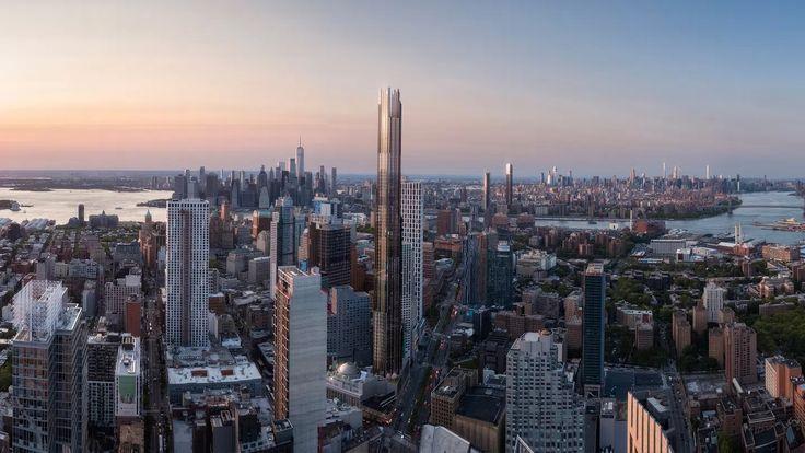 Renderings credit of Binyan Studios via JDS Development / SHoP Architects