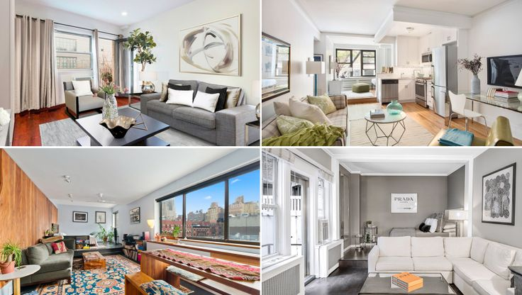 Studios from notable neighborhoods like Greenwich Village, Chelsea, Clinton Hill, and more are included.