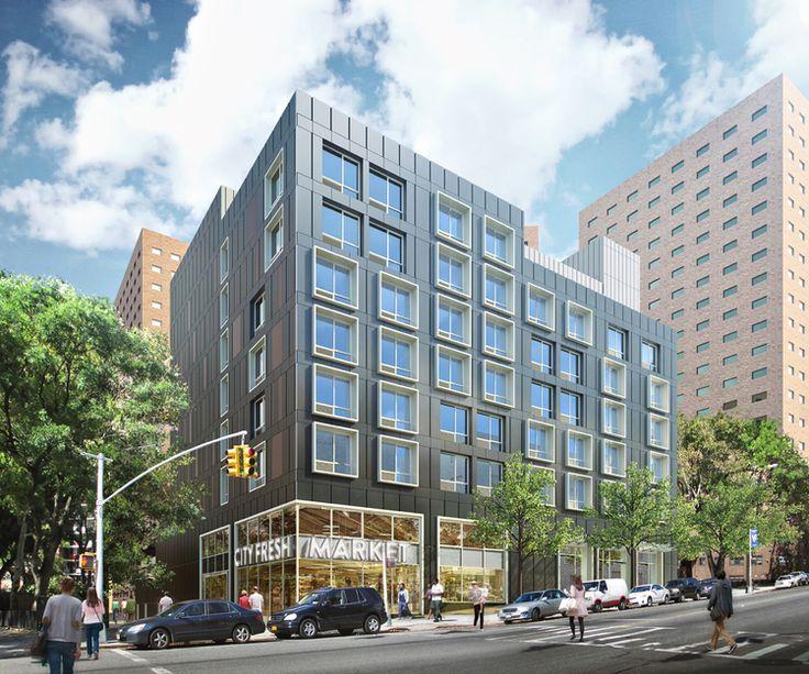 Rendering of 1440 Amsterdam Avenue (GLUCK+)