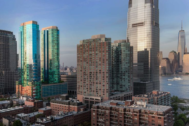 70 Greene Apartments is on the waterfront in Jersey City (Image: Equity Residential)