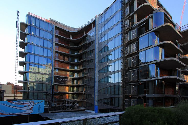 Adjacent to The High Line, 520 West 28th Street is currently under construction.