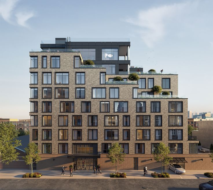 All renderings of 308 North 7th Street via Adam America Real Estate