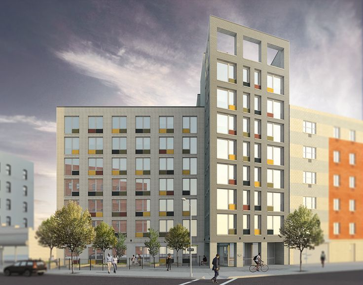 All renderings of 902 Jennings Street via Alexander Gorlin Architects