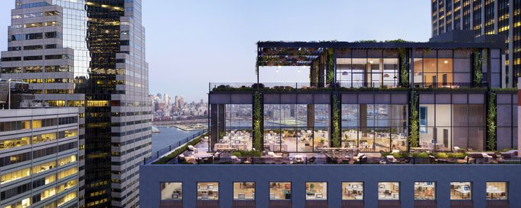100 Pearl's envisioned rooftop addition with new restauran