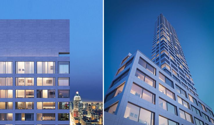 Renderings of 611 West 56th Street, via Noe & Associates with The Boundary