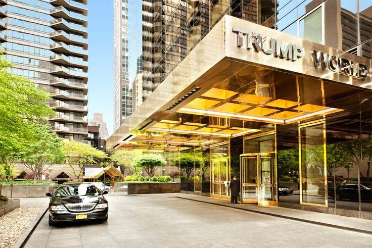 Entryway at Trump World Tower