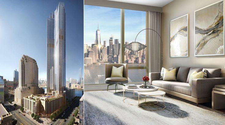 99 Hudson Street renderings (China Overseas America and Perkins Eastman)