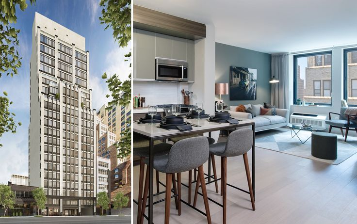 Chelsea 29 has just opened its leasing office (Images via The Marketing Directors / Hill West)