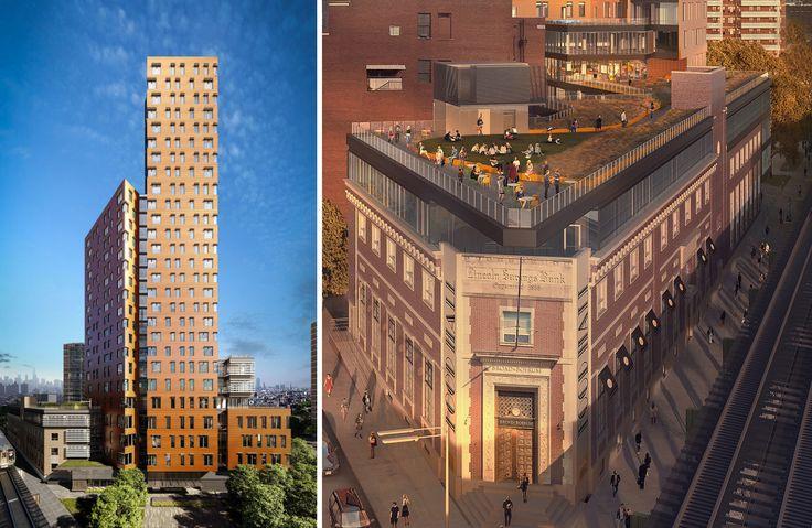 Renderings of 545 Broadway via Blesso Properties