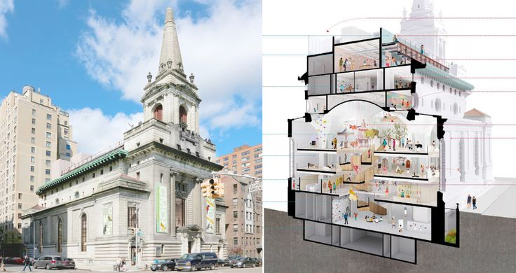 All images of 361 Central Park West via FXCollaborative for Landmarks Preservation Commission
