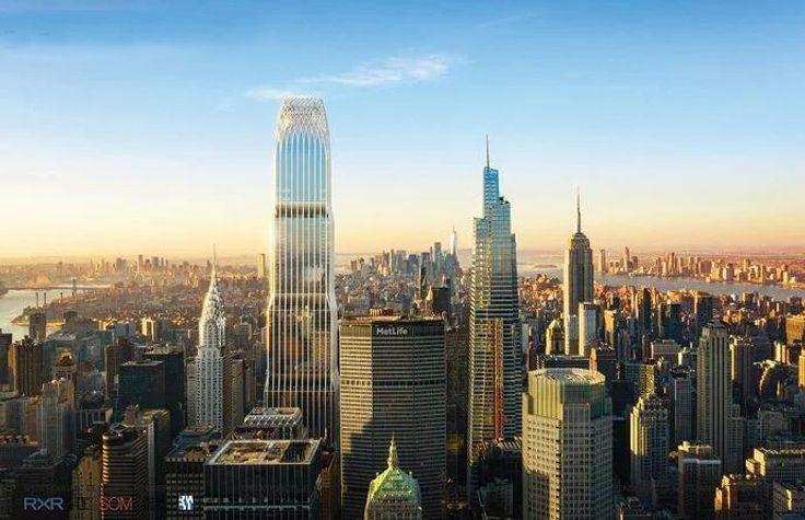 175 Park Avenue via RXR Realty and SOM