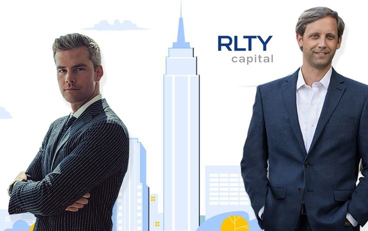 Ryant Serhant and co-founder and CEO of RLTY Capital Briggs Ellwell