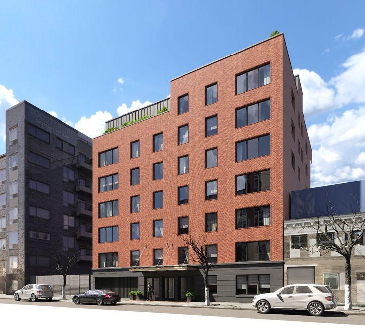 Rendering of 484 Sterling Place via Titan Engineering