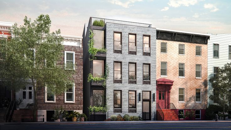 111 Noble Street lies in the Greenpoint Historic District. Rendering via MDIM Design